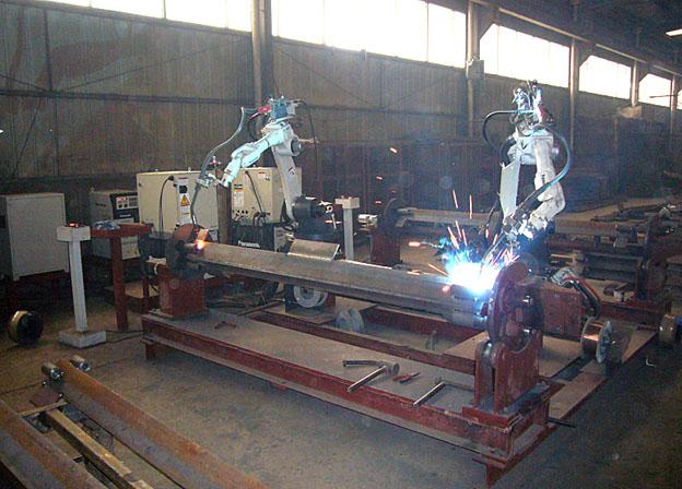 建设机械行业塔吊,升降机机器人焊接系统